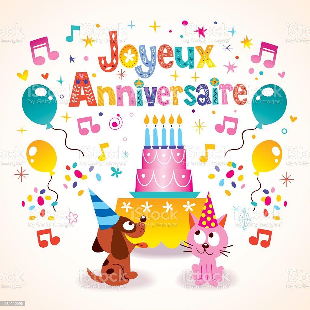 French Language Birthday Greetings