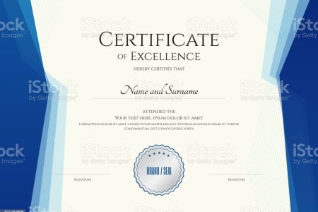 Luxury Certificate Template With Elegant Border Frame Diploma Design     Luxury certificate template with elegant border frame  Diploma design for  graduation or completion royalty