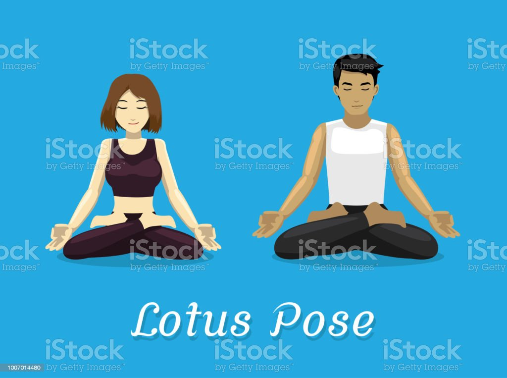 Cartoons Vinyasa Yoga