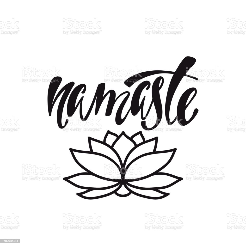 Royalty Free Namaste Clip Art, Vector Images ...