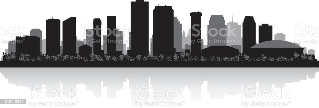 louisiana silhouette printable clear - 1024×349