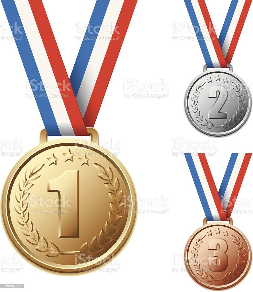 Medal Clip Art, Vector Images & Illustrations - iStock