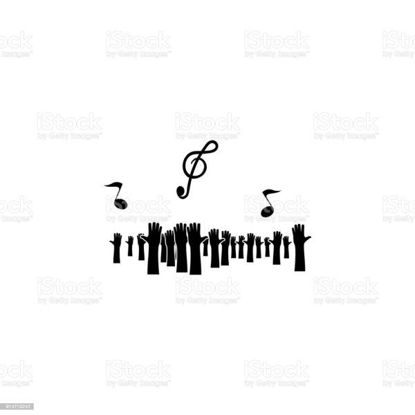 Musical Notes Symbols Makeup Organizer Makeup