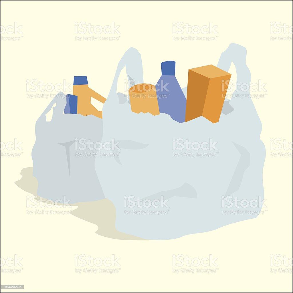 Plastic Grocery Bag Art