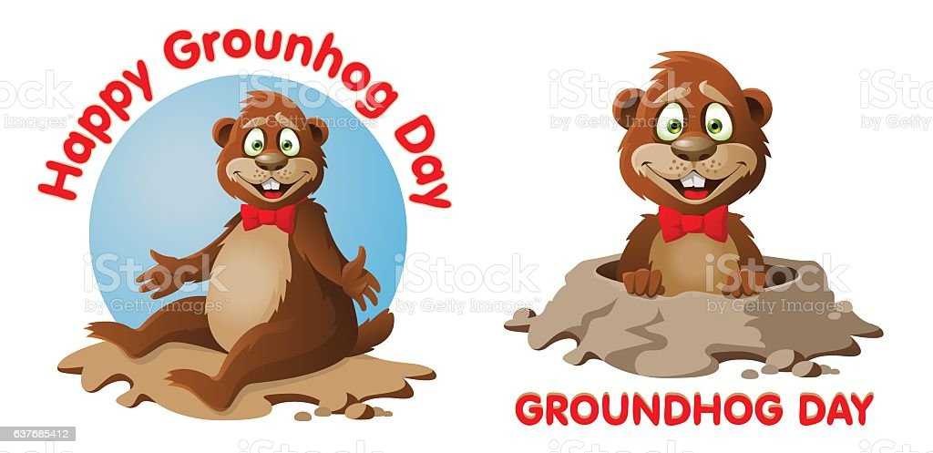 Groundhog Day Funny Text