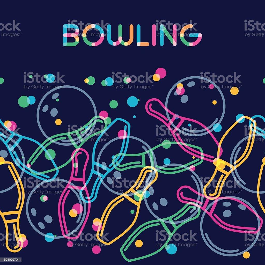 Ten Pin Bowling Clip Art, Vector Images & Illustrations ...