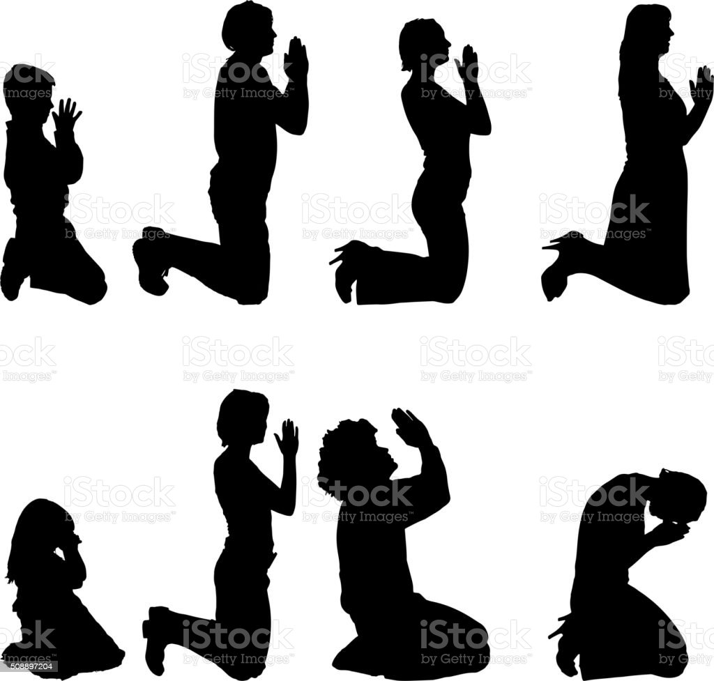 Free Praying People Clipart and Vector Graphics - Clipart.me