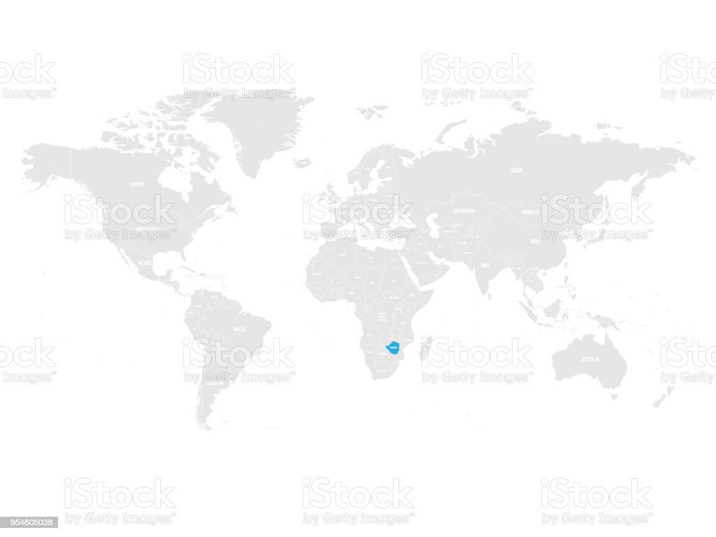 zimbabwe political map Full HD MAPS Locations