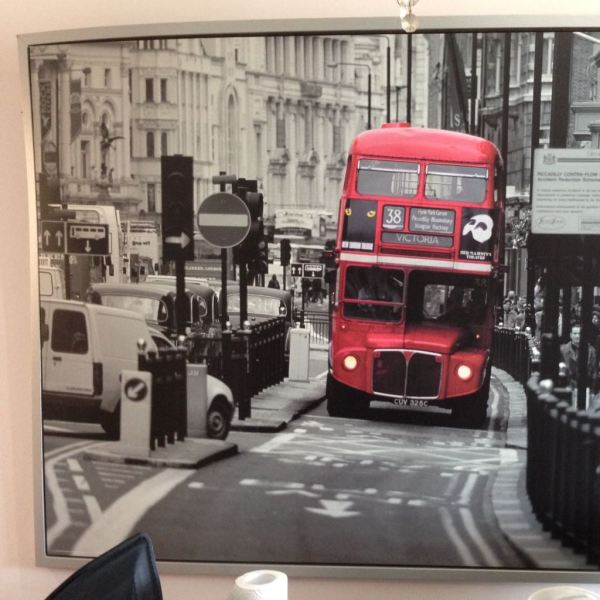 ikea pictures london bus # 6