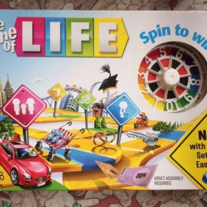 The Game of Life board game  Toys   Games  Board Games   Cards on     photo photo