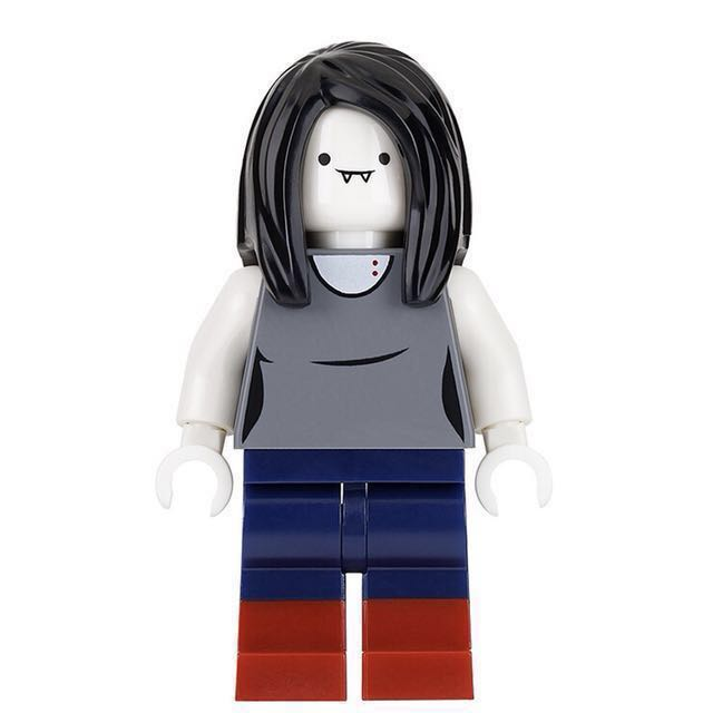 Lego Marceline Minifigure Vampire Queen from Adventure Time 71285     Lego Marceline Minifigure Vampire Queen from Adventure Time 71285 Lego  Dimensions  Toys   Games  Bricks   Figurines on Carousell