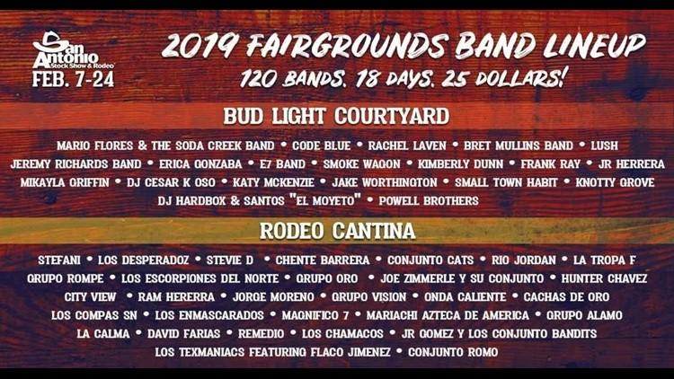 Rodeo After Dark Fairgrounds Lineup Announced Kens5 Com