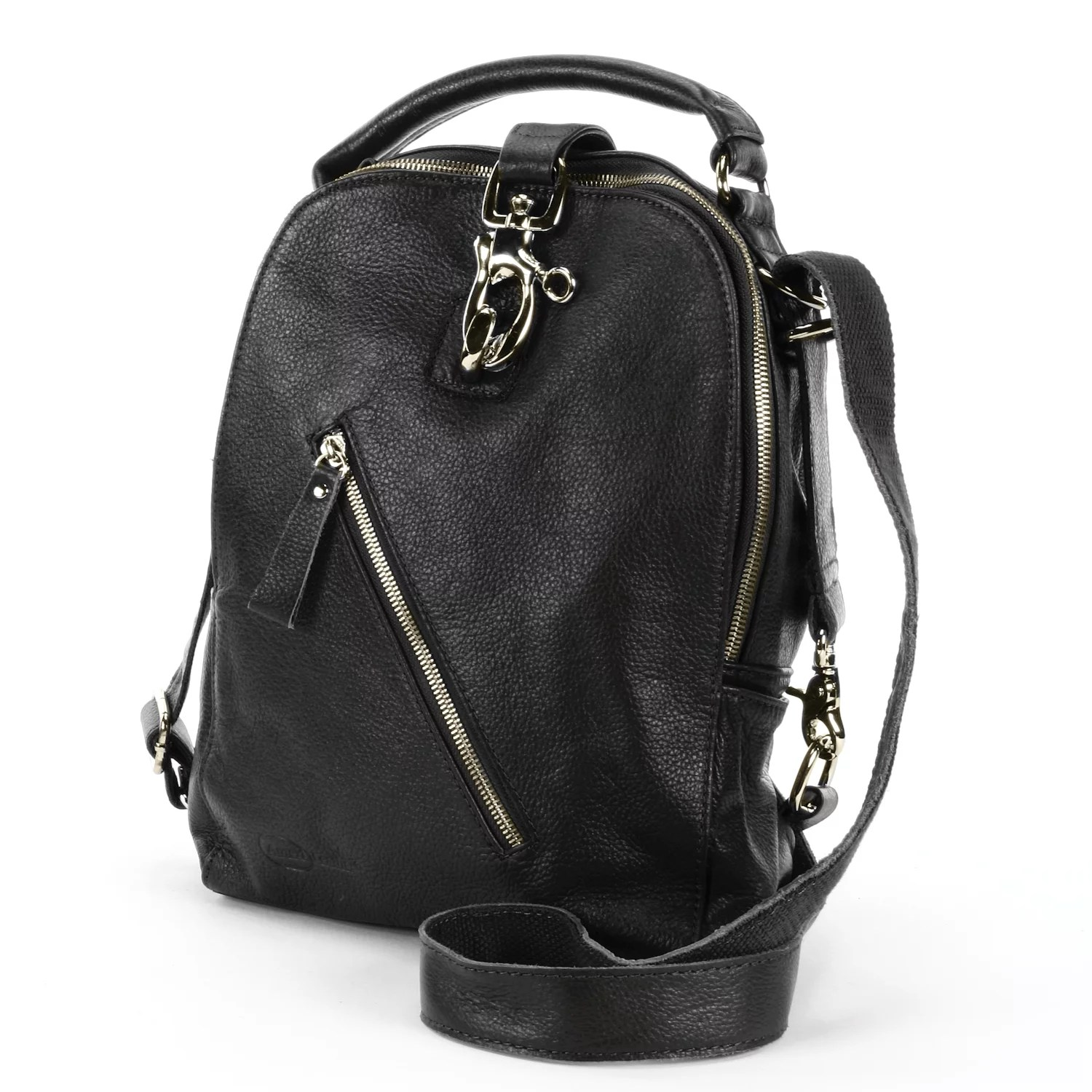 Womens Fashion Backpacks   Accessories   Kohl s AmeriLeather Quince Leather Convertible Backpack