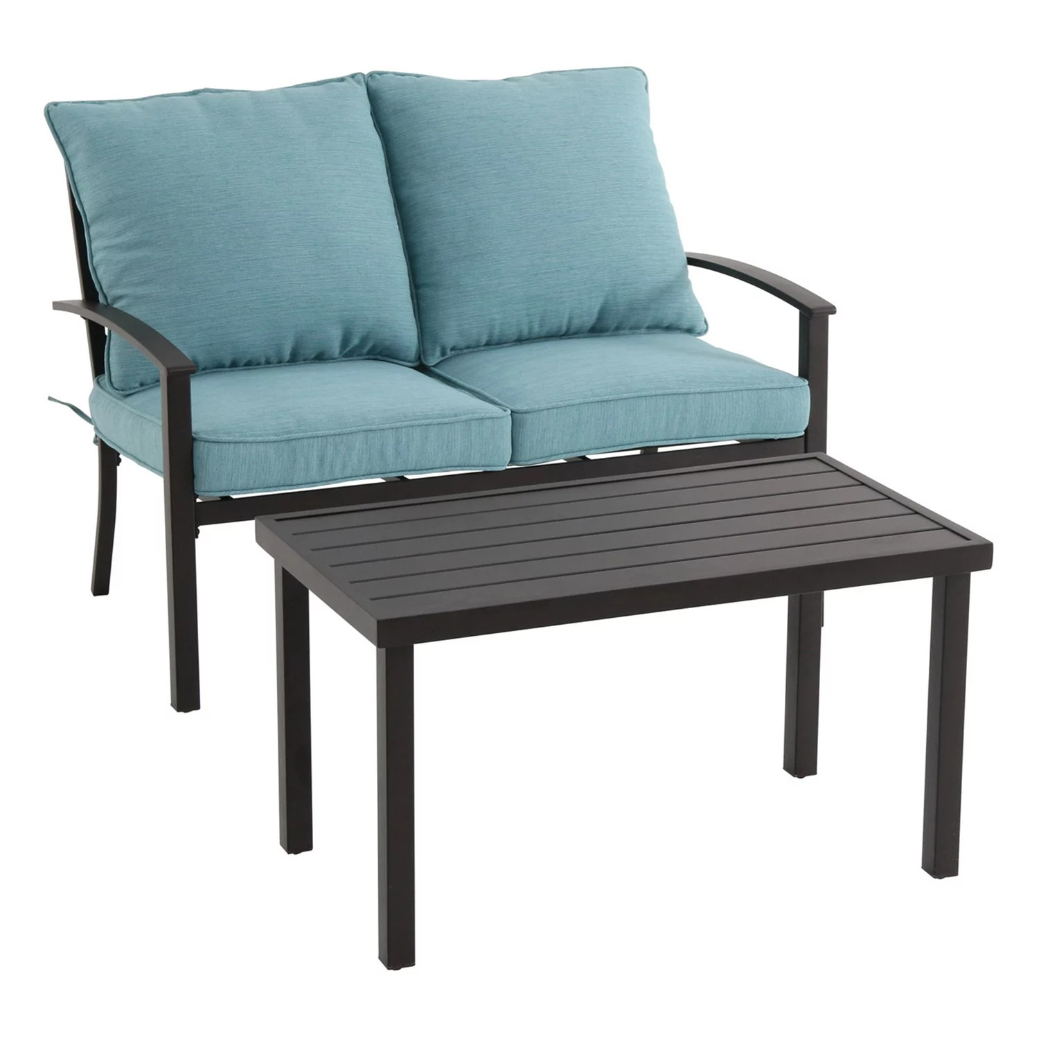 Patio Furniture   Outdoor Furniture   Kohl s SONOMA Goods for Life       Burbank Patio Loveseat   Coffee Table 2 piece Set