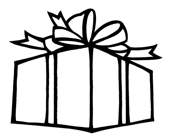 christmas present coloring pages # 8