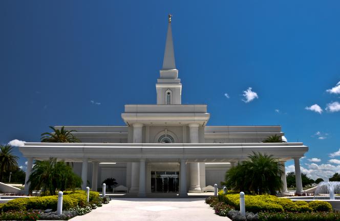 Orlando Mormon Temple Wallpaper