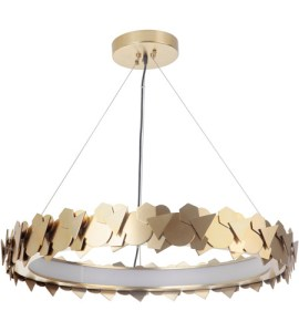 Craftmade 49390 SB LED Bangle LED 31 inch Satin Brass Pendant     Craftmade 49390 SB LED Bangle LED 31 inch Satin Brass Pendant Ceiling Light   Gallery Collection
