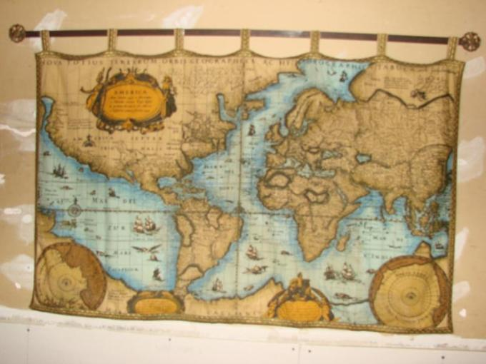 Fabric 1492 Christopher Columbus Map Fabric 1492 Christopher Columbus Map  Loading zoom