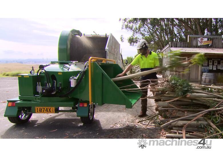 Petrol Wood Chipper
