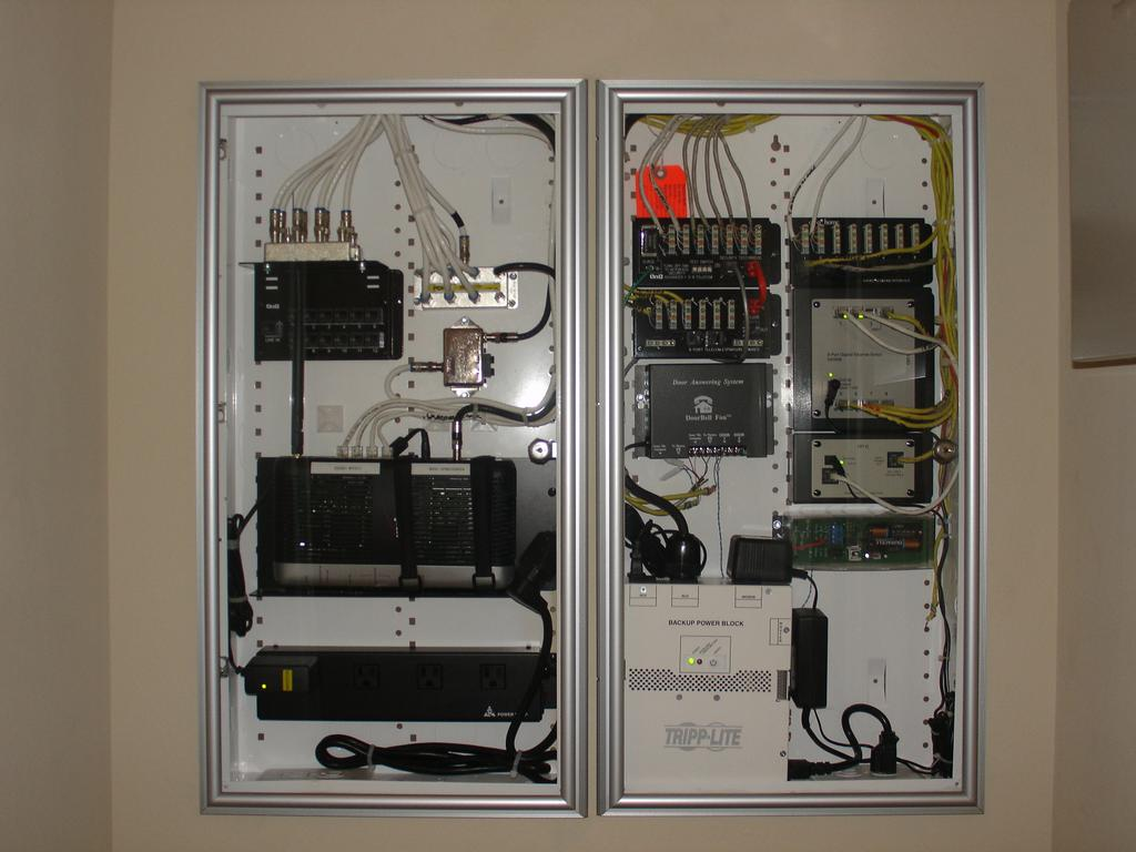Structured Wiring Panel Home