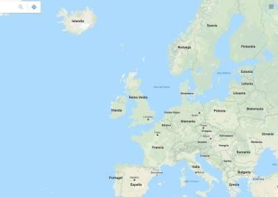 Islandia mapa y otros datos: idioma, habitantes, moneda ...