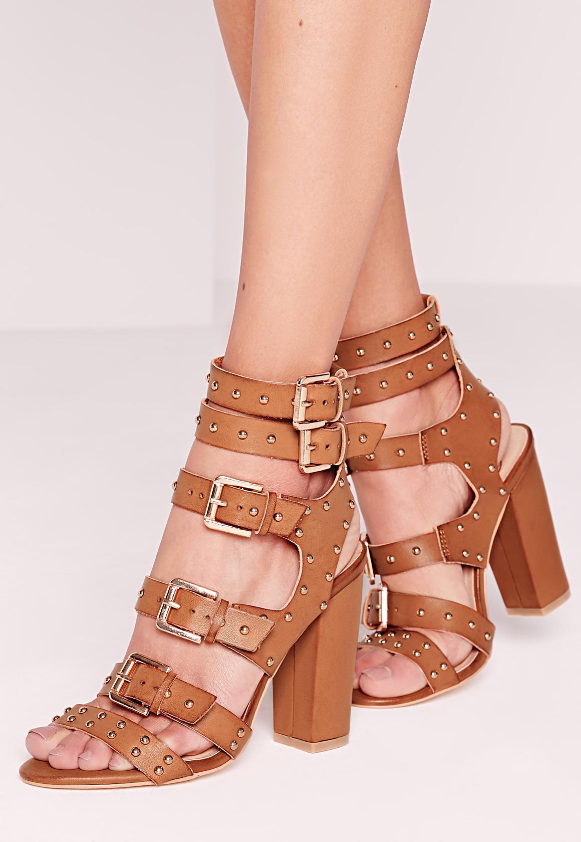 Heel Sandals Denim