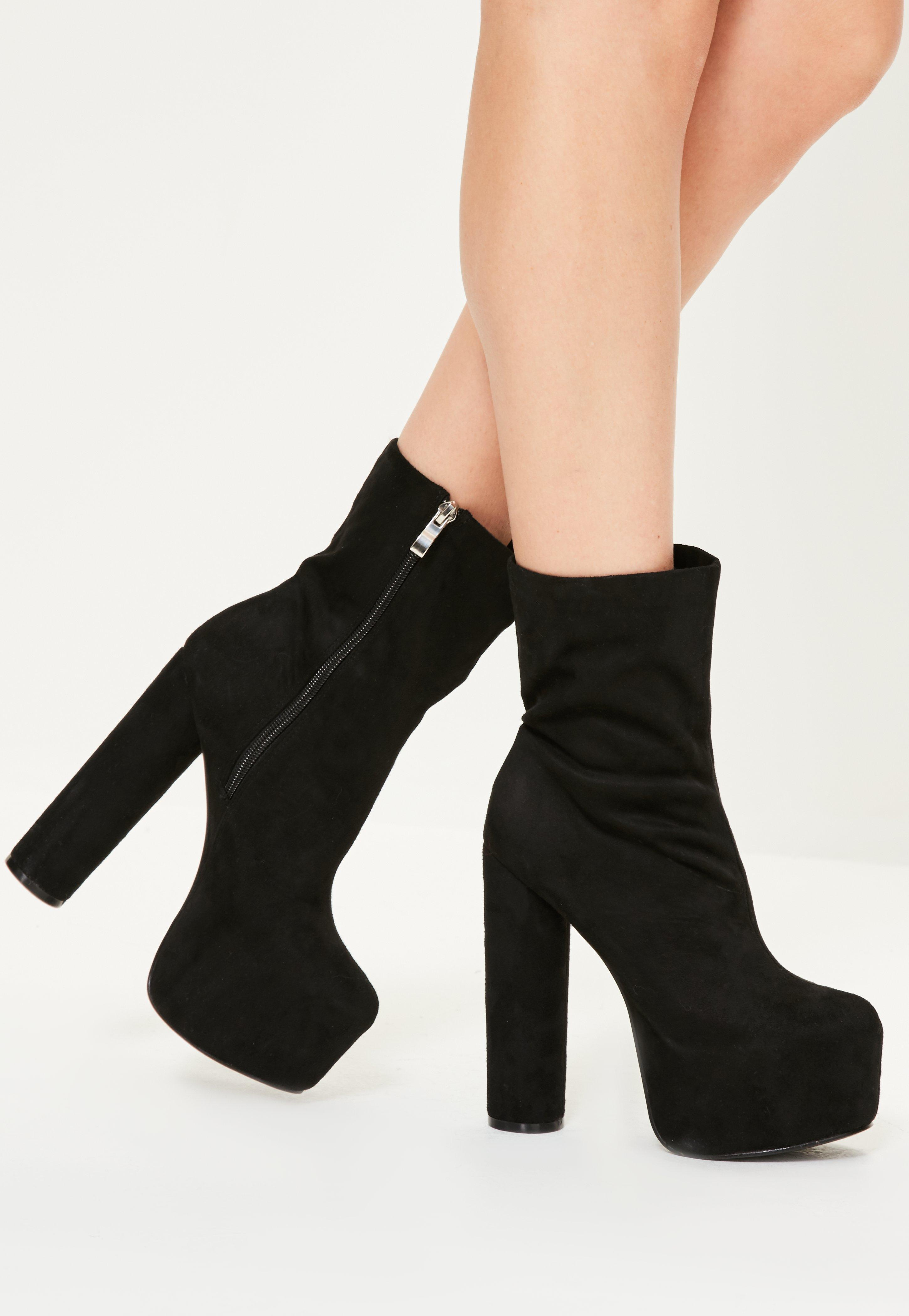 Tall Ankle Booties