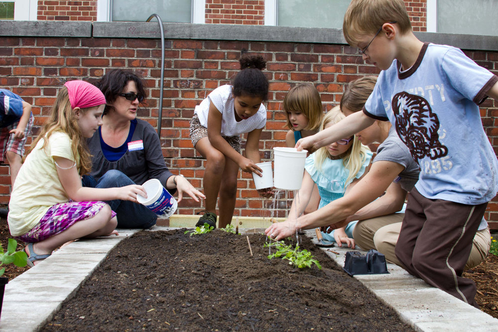 From churchyards to the county jail, community gardens are ...