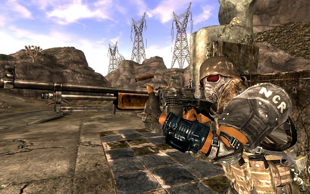Fallout New Vegas Weapons Arm