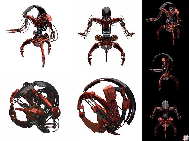 Dark Destoyer Droids Image Star Wars Role Playing