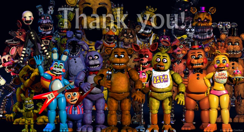 fnaf 1 image   Five Nights at Freddy s Secret Club   Mod DB Add media Report RSS fnaf 1  view original