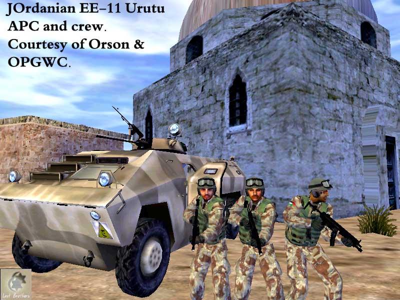 Jordanian Ee 11 Urutu Apc Image The Lost Brothers Mod