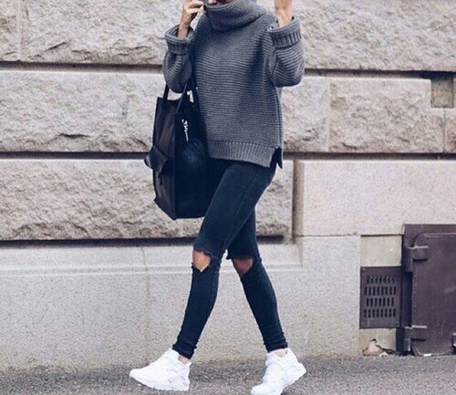 Tumblr Winter Outfits 2017 by Ella Jade - Musely
