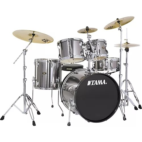 TAMA Imperialstar 5 Piece New Fusion Drum Set with Cymbals     TAMA Imperialstar 5 Piece New Fusion Drum Set with Cymbals