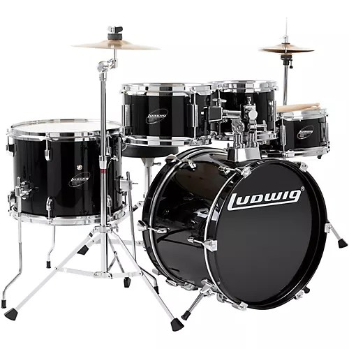 Ludwig Junior Outfit Drum Set   Musician s Friend Ludwig Junior Outfit Drum Set