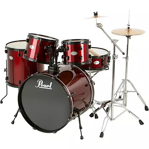 Pearl Soundcheck 5 Piece Drum Set with Zildjian Cymbals   Musician s     Pearl Soundcheck 5 Piece Drum Set with Zildjian Cymbals