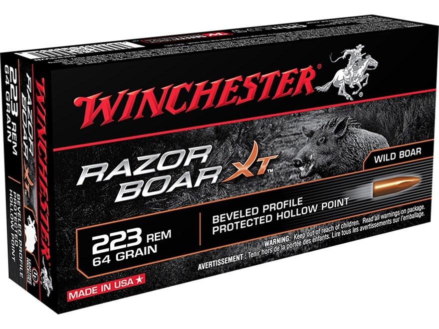 223 Winchester Razorback Xt
