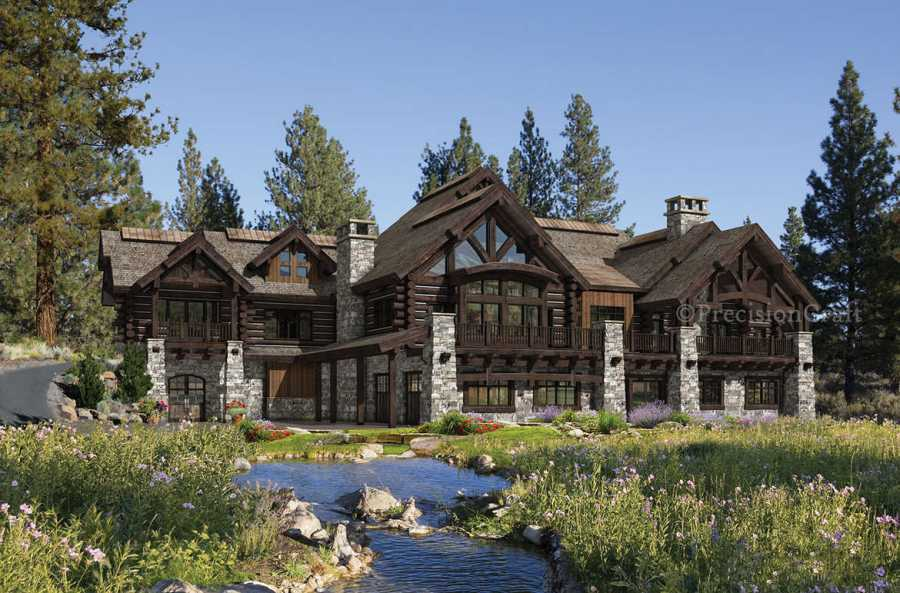 log cabin mansions floor plans home dream tiny home plans