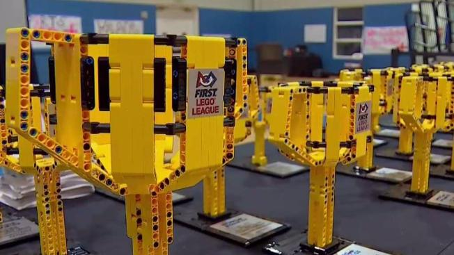 Kids Put Lego Skills to the Test in Competition   NBC 5 Dallas Fort     Kids Put Lego Skills to the Test in Competition