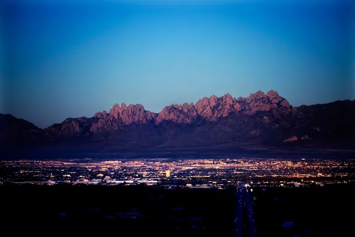 Mexico Las Mexico Cruces Border New And