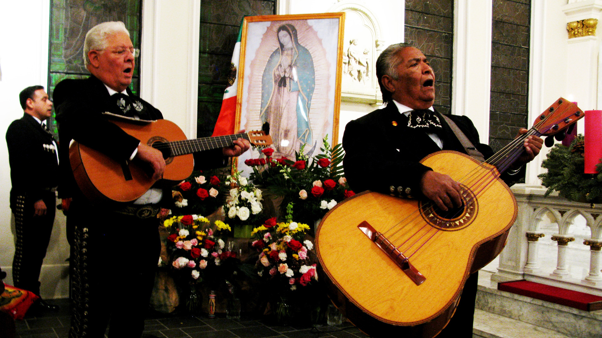 Our Soul Music Is Mariachi Music Houston S Mexican Mass