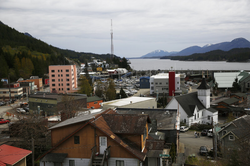 Leaving Timber Behind  An Alaska Town Turns To Tourism   NPR Ketchikan sits on an island at the southernmost end of southeast Alaska  a  prime spot for cruise ships navigating Alaska s Inside Passage