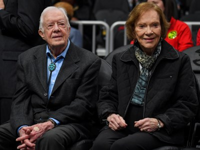 Jimmy Carter Hospitalized After Fracturing Pelvis In A Fall : NPR