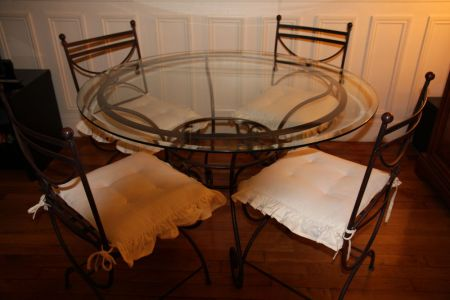 Best Home Design » meubles de jardin en fer forg