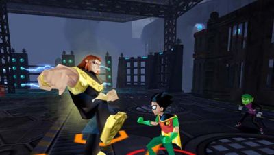 Teen Titans Game   PS2   PlayStation Teen Titans Screenshot 4