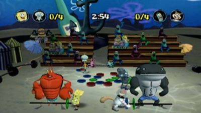 SpongeBob SquarePants  Lights  Camera  Pants  Game   PS2   PlayStation SpongeBob SquarePants  Lights  Camera  Pants  Screenshot 4