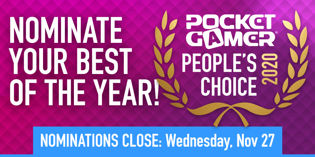 Nominate YOUR Game of the Year for the Pocket Gamer People's Choice Award 2020 | Articles ...