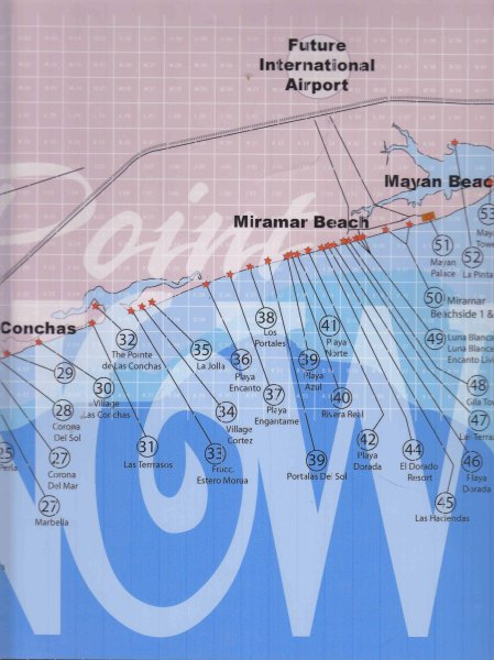 Area Maps of Rocky Point  Maps of Puerto Penasco  Mexico  Maps of     ROCKY POINT   MAPS   EASTSIDE 2 of 2   PUERTO PENASCO MEXICO