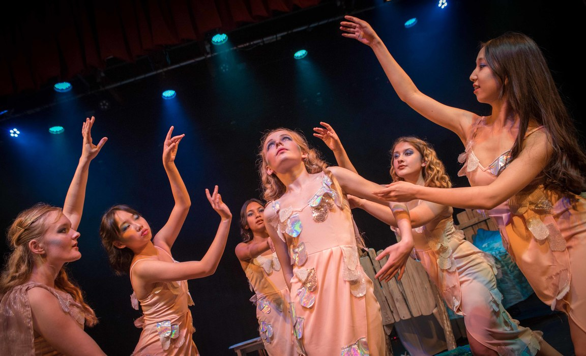 St Mary's School's production of 'Mermaid' goes swimmingly ...