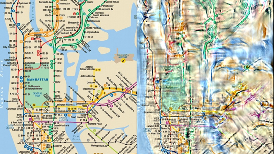 Transit New City York Map New Jersey